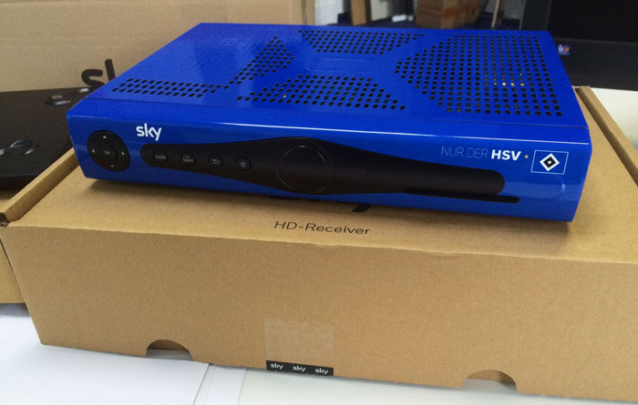 Sky Bundesliga HSV Fan-Receiver